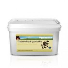 Supplementen - kopen - 8 kg Eggersmann kruidenmineraal graanvrij Paardenvoer