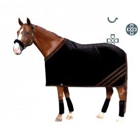 Paardendekens - Fleece- en Zweetdekens - kopen - Aiko SUPREME exclusieve zweet- en showdeken