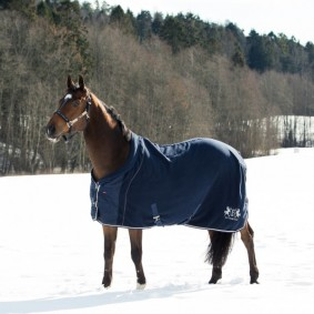 Paardendekens - Fleece- en Zweetdekens - kopen - B Vertigo Vincent Fleecedeken