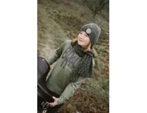Paardrijkleding - Caps - kopen - BR Sweater 4-u Tieners Capulet Olive 176