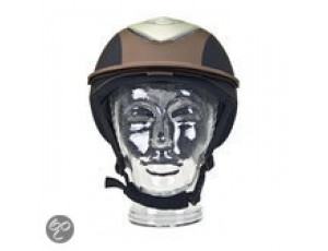 Paardrijkleding - Caps - kopen - BR Viper – Veiligheidshelm – Bruin – mt. 59/62cm