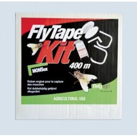 Vliegenbestrijding - Anti Vliegen - kopen - Belgagri FlyTape Kit 400 mtr