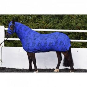Paardendekens - Staldekens - kopen - Belvoir Rug Company Blue Snake Honsie™