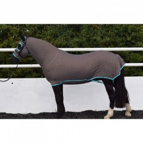 Paardendekens - Staldekens - kopen - Belvoir Rug Company Brown Polka Dot Honsie™