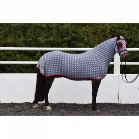 Paardendekens - Staldekens - kopen - Belvoir Rug Company Navy Stripe Honsie™