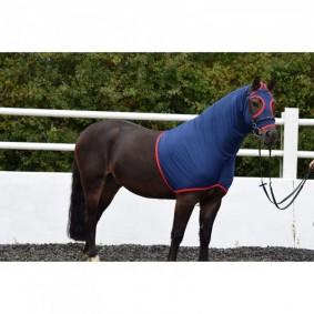 Paardendekens - Halsstukken - kopen - Belvoir Rug Company Regal Navy Show Hood