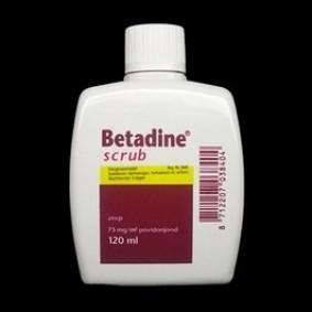 Onderhoud en Verzorging - Wondverzorging - kopen - Betadine Scrub