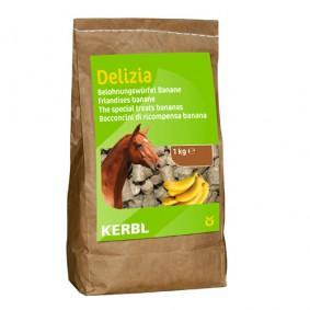 Onderhoud en Verzorging - Paardensnoepjes en Likstenen - kopen - Bio-beloningsbrok Banaan