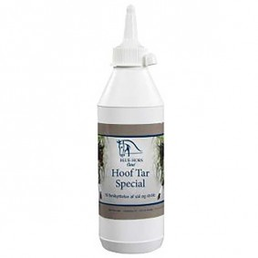 Onderhoud en Verzorging - Hoefverzorging - kopen - Blue Hors Hoefteer Speciaal 500 ml