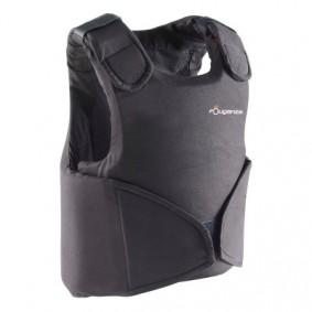 Paardrijkleding - Vesten en Bodywarmers - kopen - Bodyprotector Safety 100 voor kinderen, ruitersport, zwart