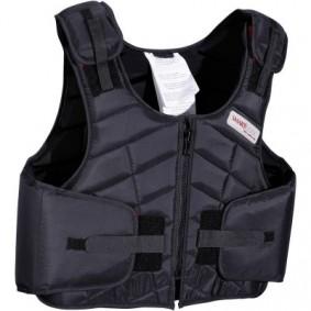 Paardrijkleding - Vesten en Bodywarmers - kopen - Bodyprotector Smartrider voor volwassenen, ruitersport, zwart