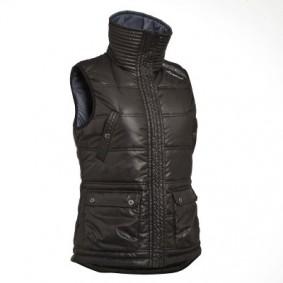 Paardrijkleding - Vesten en Bodywarmers - kopen - Bodywarmer paardrijden dames Paddock zwart