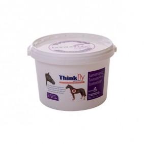 Vliegenbestrijding - Anti Vliegen - kopen - Brinicombe Think Vliegenkorrels voor Paarden – 4 kg