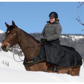 Paardendekens - Uitrijdekens - Nierdekens - kopen - Bucas Irisch Rijdeken met Beenwarmer