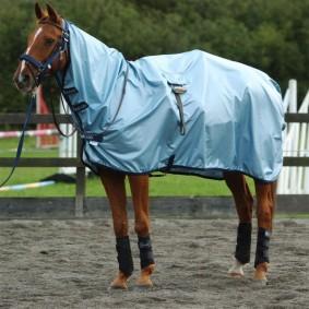 Paardendekens - Uitrijdekens - Nierdekens - kopen - Bucas Regendeken/Rijdeken
