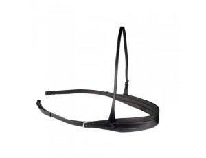 Hoofdstellen en Halsters - Hulpteugels - kopen - Classic Leather Training Breast Collar with Short Traces