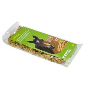 Onderhoud en Verzorging - Paardensnoepjes en Likstenen - kopen - Delizia Mueslirepen wortel honing 2x50gram