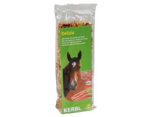 Onderhoud en Verzorging - Paardensnoepjes en Likstenen - kopen - Delizia Mueslirepen wortel honing