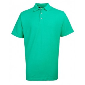 "Paardrijkleding - Shirts - kopen - """"""RTY Workwear Poly/cotton pique polo, Kleur Emerald Green, Maat S"""""""