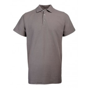 "Paardrijkleding - Shirts - kopen - """"""RTY Workwear Poly/cotton pique polo, Kleur Solid Grey, Maat S"""""""