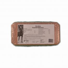 Overig - Paardensport Merken - Rockies - Supplementen - kopen - Rockies Liksteen Paard Naturel 2 kg
