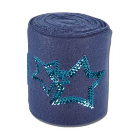 Onderhoud en Verzorging - Overig - Paardensport Merken - Waldhausen - kopen - Waldhausen Bandage Rising Star Blauw