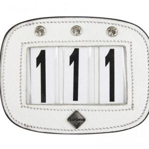LeMieux wedstrijd Nummerhouder Diamant bestellen? Via Paardensportwebshop.nl